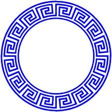 GREEK KEY PATTERN - Google Search The Greek Key Design is one of the most significant symbols in ancient Greece. The key is a decorative element in Greek and Roman art work and it is used to present day. This key symbol was very important in Greece because it identified infinity, unity, bonds of friendship, of love and devotion and that's the reason it's often given as marriage gift.