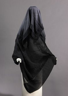 Mourning Veil (another view) -  1895