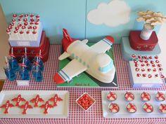 Jacobs 6thbday Airplane cookies etc