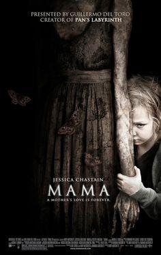 Mama (2013)   La sombra que las cobijó... Dos niñas desaparecidas son encontradas 5 años después. Tras su traumática experiencia su...