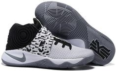 8eb4dacaf519 Nike Kyrie 2 White Black Cool Grey Kyrie Basketball