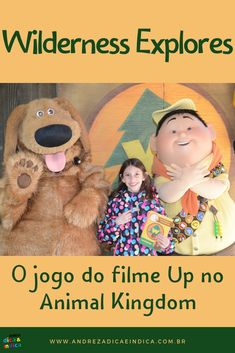 "No Animal Kingdom existe um jogo super divertido inspirado no filme Up totalmente voltado aos ""exploradores da natureza"". #disney #wildernessexplorers #animalkingdom #up"