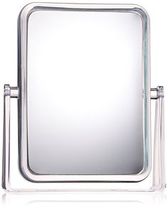 Danielle D209 Ultra Vue Clear Acrylic Collection Rectangular Easel Style Vanity Mirror, 7x, Clear ** Trust me, this is great! Click the image. : Travel essentials