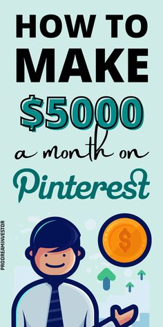 Learn how to make money on Pinterest with or without a blog. Make $5000 passive income every month with Pinterest while working from home. #makemoneyonpinterest #workfromhome Make Money Blogging, Way To Make Money, Make Money Online, Online Income, Online Jobs, Midlife Career Change, Show Me The Money, Work From Home Moms, Home Based Business