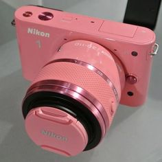 I want this pink Nikon camera! The Purple, All Things Purple, Purple Rain, Shades Of Purple, Girly Things, Magenta, Pretty In Pink, Cool Things To Buy, Stuff To Buy