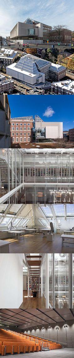 Harvard Art Museums Renzo Piano. 2014.