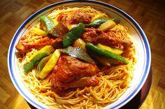 Makrouna Bel Salsa (Spaghetti à la Tunisien