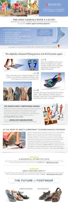ABEO Footwear - ABEO B.I.O. - Built-In Orthotics