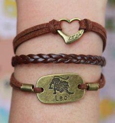 Hey, I found this really awesome Etsy listing at https://www.etsy.com/listing/127761853/infinity-wish-karma-bracelet-leo