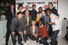 Danny Mastrogiorgio, Barrett Doss, Drew Hildebrand, Adam Trese, Playwright Thomas Bradshaw, Jeff Biehl, Andrew Garman, Hunter Foster, Director Scott Elliott, Larisa Polonsky, Reyna de Courcy, Stephen Tyrone Williams, Evan Johnson, Vladimir Versailles