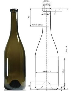 Kohler Glass creates bottles with strict following the technical data. Mechanical Engineering Design, Mechanical Design, Autocad, Blueprint Construction, Bottle Drawing, Isometric Drawing, Fusion Design, Wine Display, Tv Wall Design