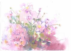 10月秋の風に(秋明菊・紫陽花) (640x459)