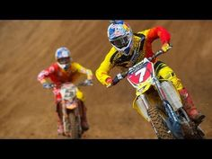 Freestone National Race Highlights Stewart outpaces Ryan Dungey in both Motos for event 2 of the 2012 Motocross series.