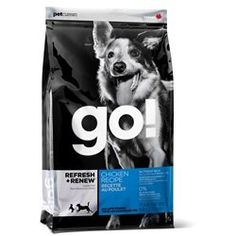 Petcurean Go! Fit and Free Grain Free Adult Recipe Dry Dog Food Grain Free Dog Food, Free Food, Best Dry Dog Food, Les Croquettes, Chicken For Dogs, Premium Dog Food, Dog Food Brands, Animal Nutrition, Pet Nutrition