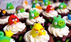 Angrybirds cupcakes