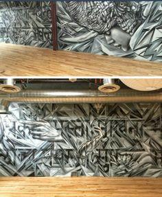 Street Art by Angelina Christina x Ease, LA's Arts District