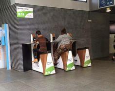(圖) 《物欲研究所 現場直擊》比利時的安特衛普車站,居然有人在踩腳...