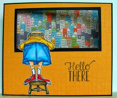 Art Impressions Fronts & Backs > Guido Front and Back (Sku#T1718) Handmade inside out window card.