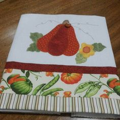 #pano de pratos# abóbora# artesanato fatimalt# | por fatimalt