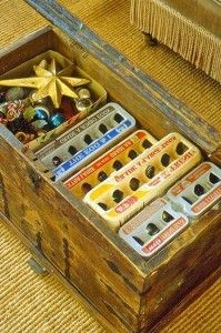 Holiday Decoration Storage - This is a really good idea.