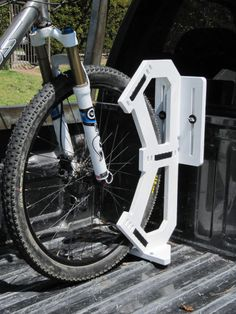 The Wheel Wally Truck Mounted Bike Mount