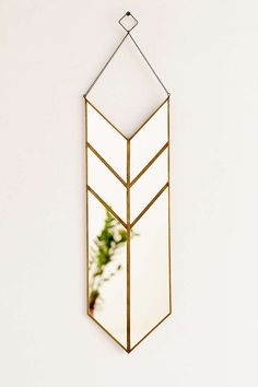 Totally. In. Love. // Magical Thinking Hanging Pennant Mirror - Urban Outfitters