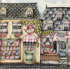 Romantic Country Eriy Coloring Book Chapter 1 Prisma Colors