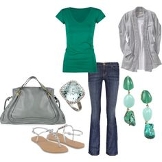 GREEN with envy over this outfit!