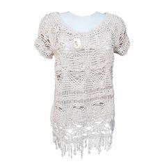 TEE SHIRT STRATEGIA Elisa Cavaletti #Crochet