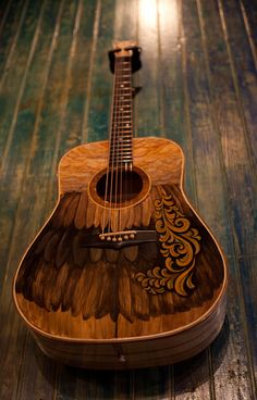 Hand Painted Guitars, Ukuleles, Lichty Guitars-21 by cwds, via Flickr