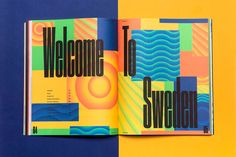 A New Type of Imprint is a magazine on creative culture and design, published quarterly by the Norwegian agency ANTI. For the eleventh issue they approached us to design a chapter dedicated entirely to Swedish designers and creatives.