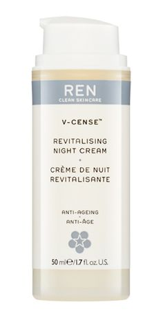 Ren V Cense Revitalising Night Cream 3 X 15ml New Sample Size Fragrant In Flavor