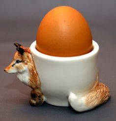 Coquetier en forme de renard in Maison, Cuisine, arts de la table, Arts de la table | eBay