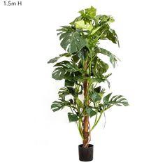 Artificial Split Leaf Philo – Monstera Tree 1.5mt
