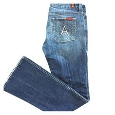 Seven7 FAMK jeans Really nice jeans! Bootcut style. Seven7 Jeans Boot Cut