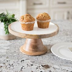 The perfect place to display treats is on our White Enamel and Wood Cake Stand! Its exquisite mango wood material will give your kitchen a modern look. Tiered Fruit Basket, Cake Dome, Wood Cake, Old Fashioned Glass, Updated Kitchen, Base Foods, White Enamel, Quick Easy Meals, Dinner Plates