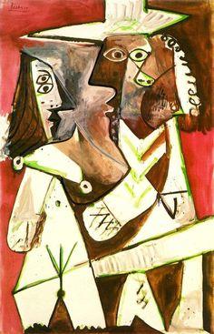 Pablo Picasso, 1969 Homme et enfant