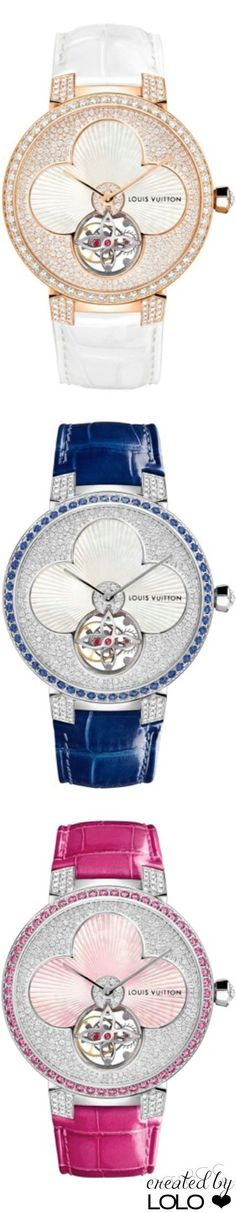 cool New Louis Vuitton watches for women: uniting couture and watchmaking