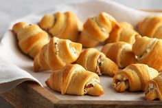If you like our Cream Cheese-Bacon Crescents and you like things spicy, you're going to love these tasty appetizers!  Made with just 3 ingredients, our Jalapeño-Bacon Crescents are sure to get you all fired up!