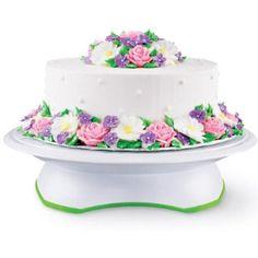 Wilton Trim 'n Turn ULTRA Cake Turntable Rotating Cake Stand, 307-301