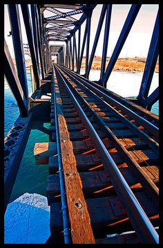 Morning Train Trestle - love the bridge as ceiling and wall structure