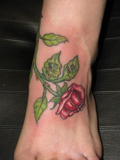 Rose stem – Tattoo Picture at CheckoutMyInk.com