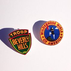 Troop Beverly Hills Pins Made with love by V&M Available as a set or sold separately