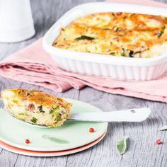 Foodle - Clafoutis de jambon et courgette - Compagnon