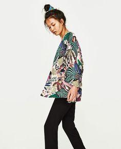 Image 4 of PRINTED KIMONO from Zara