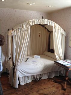 The bedroom Jane and Cassandra Austen shared--Chawton Cottage