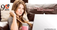 Work from Home without any Investment with 9am affiliate program. Join it easily | Fill the form as an affiliate & get affiliate code Get monthly Commission on each sale. For any Information Click on bit.ly/1orYqqV & Call at 0120-4282274