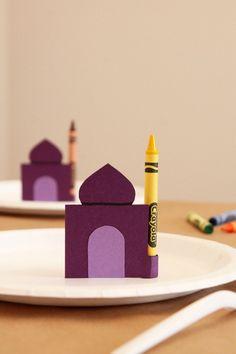 Ramadan Kids Table Crayons 13 Super Fun Ways You Can Celebrate Ramadan With