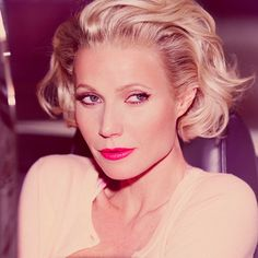 Whoa—See Gwyneth Paltrow Channel Marilyn Monroe! via @ByrdieBeauty