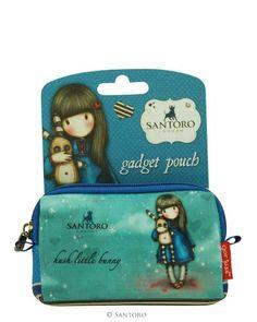 Gorjuss Gadget Pouch - Hush Little Bunny from Santoro